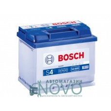 """Автомобильный аккумулятор  6CT-60 S4 Silver (S40 050)  """"Bosch"""""""