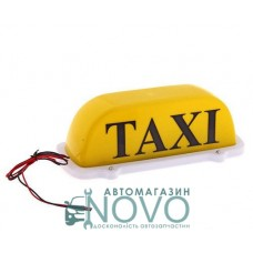 """Знак такси желтый   """"ДК"""""""