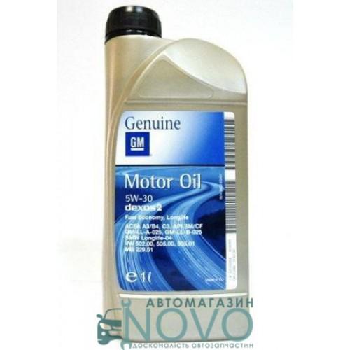 """Масло моторное 5W-30 dexos2 API API SM/CF ACEA A3/B4/C3 1942000 (Канистра 1л)  """"General Motors"""""""